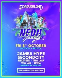Foreverland Bristol: Neon Jungle Rave at Motion in Bristol