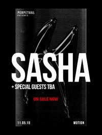 Sasha at Motion, Bristol at Motion in Bristol