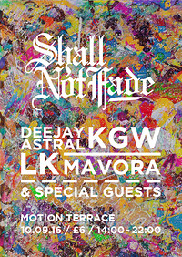 Shall Not Fade - Terrace Day Party  at Motion in Bristol