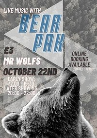 Bear Pak at Mr Wolfs in Bristol
