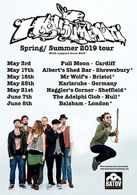 Greek Party - Hallouminati + Support from Kefi at Mr Wolfs in Bristol