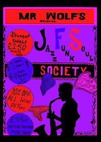 JFS Presents: Live Open Jam at Mr Wolfs in Bristol