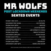 Mr Wolfs Post Lockdown Weekends w/ DJ Alfie at Mr Wolfs in Bristol