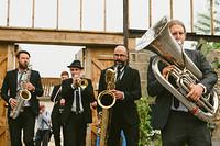 Brass Junkies at No.1 Harbourside in Bristol