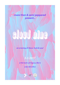 More Than x Semi Peppered: CloudNine Loft Party at Old Malt House Loft Space in Bristol