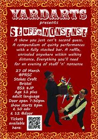 YardArts presents: Stuff & Nonsense  at PRSC in Bristol