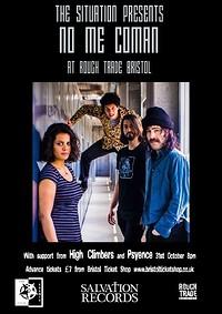 No Me Coman + High Climbers + Psyence at Rough Trade Bristol in Bristol