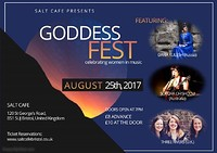 Goddessfest! at Salt Café in Bristol