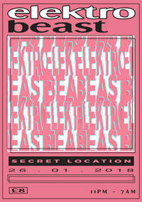 Elektrobeast Mad House 002 at Secret Location in Bristol
