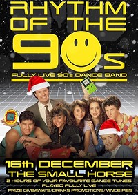 Rhythm of the 90s Xmas Party at Small Horse Inn in Bristol