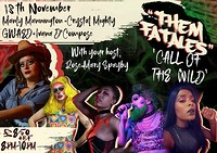 Them Fatales 3: Call of The Wild! at Smoke & Mirrors, Denmark Street in Bristol