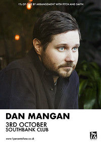 Dan Mangan at SouthBank in Bristol