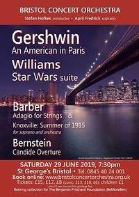 Bristol Concert Orchestra: Americano! at St George's in Bristol
