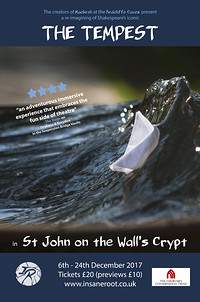 The Tempest in St. John on the Wall's Crypt at St. John on the Wall's Crypt in Bristol