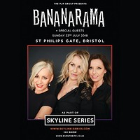 Bananarama (Skyline Series) at St Philips Gate, Feeder Road in Bristol
