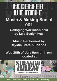 Music and Making Social 001 at Stange Brew in Bristol