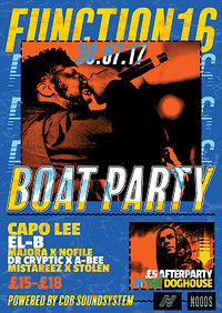 Function 16: The Boat Party at Star and Garter in Bristol