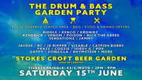 The Drum & Bass Garden Party at Stokes Croft Beer Garden in Bristol