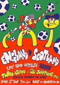 England v Scotland w/ Turbo Island & Qu DJs at Strange Brew in Bristol