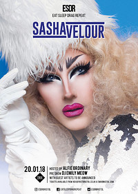 ESDR presents Sasha Velour at SWX Bristol in Bristol