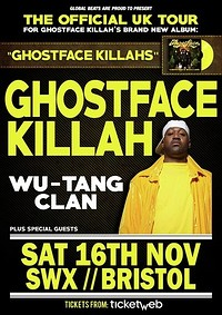 Ghostface Killah at SWX in Bristol