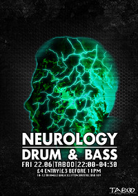 ▼Neurology: Drum 'N Bass▼ at Taboo Nightclub in Bristol
