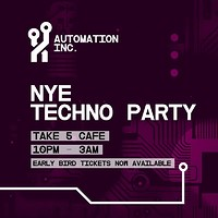 Automation Inc. 03 NYE at Take Five Cafe in Bristol