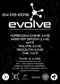 Evolve at Take Five Cafe in Bristol