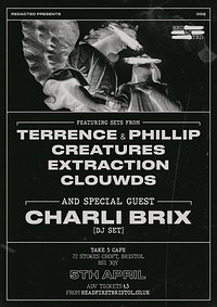 Redacted: 002 - Terrence & Phillip, Charli Brix at Take Five Cafe in Bristol