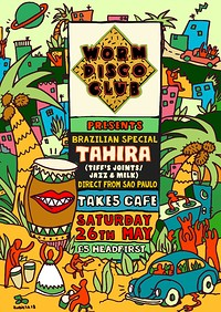 Worm Disco Club Presents: DJ Tahira at Take5 Cafe in Bristol
