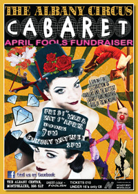 Albany Cabaret 2017 April Fool's Special at The Albany Centre in Bristol