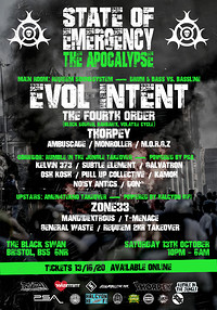 ◄State of Emergency► The Apocalypse!  at The Black Swan in Bristol