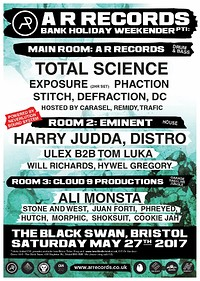 A R Records May Bank Holiday weekend pt1 at The Black Swan in Bristol