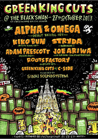 GREEN KING CUTS HALLOWEEN SPECIAL at The Black Swan in Bristol