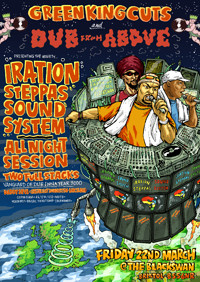 Iration Steppas Soundsystem - All Night Session  at The Black Swan in Bristol