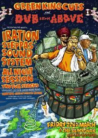 Iration Steppas Soundsystem - All Night Session  at The Black Swan in Bristol