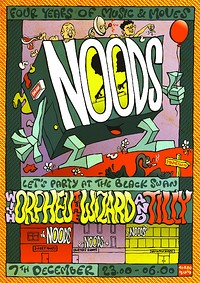 Noods 4th Birthday: Orpheu The Wizard & Tilly at The Black Swan in Bristol