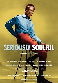Seriously Soulful at The Bristol Fringe in Bristol