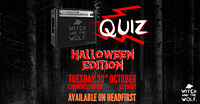 WATW: Halloween QUIZ! at The Bristol Yard in Bristol