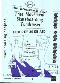 Refugee Fundraiser - Free Movement SB & Mazí Housi at The Brunswick Club in Bristol