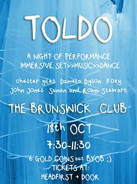 TOLDO at The Brunswick Club in Bristol