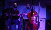 Ali George and Tom Allen at The Canteen in Bristol