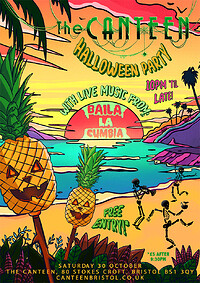 Baila La Cumbia Halloween Party at The Canteen in Bristol