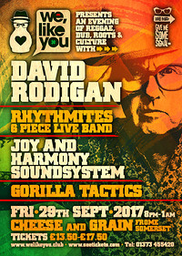 David Rodigan - An evening of Reggae & Dub at The Cheese and Grain in Bristol