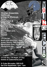YOUNG ECHO - All Dayer at The Cube in Bristol