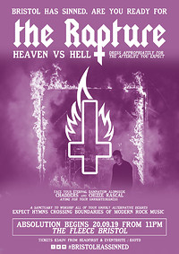 ✞ The Rapture - Chapter 3 - Heaven vs Hell ✞ at The Fleece in Bristol