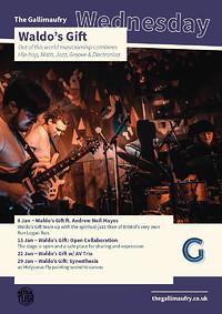 Waldo's Gift w/ AV Trio  at The Gallimaufry in Bristol