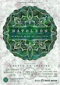 Lazarus Music Presents: Napoleon at The Hatchet Inn in Bristol