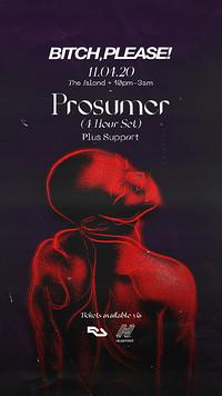 Bitch, Please! Presents Prosumer (4hr Set) at The Island in Bristol