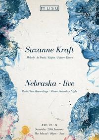 Musu ft. Suzanne Kraft & Nebraska (live) at The Island in Bristol